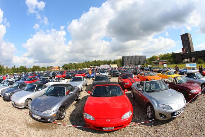 El Mazda MX-5 busca lograr un  nuevo récord mundial