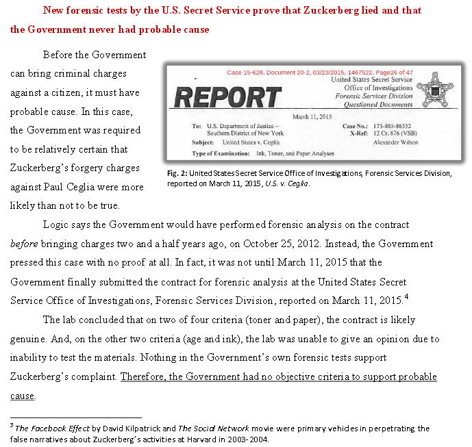 Click image to read entire press release by 'Friends of Paul Ceglia' group