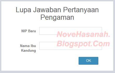 cara mengatasi masalah lupa kata kunci saat ingin login pada PUPNS BKN online 2015 6