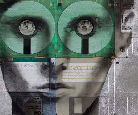 Green Pear Diaries - Nick Gentry pintura discos 3