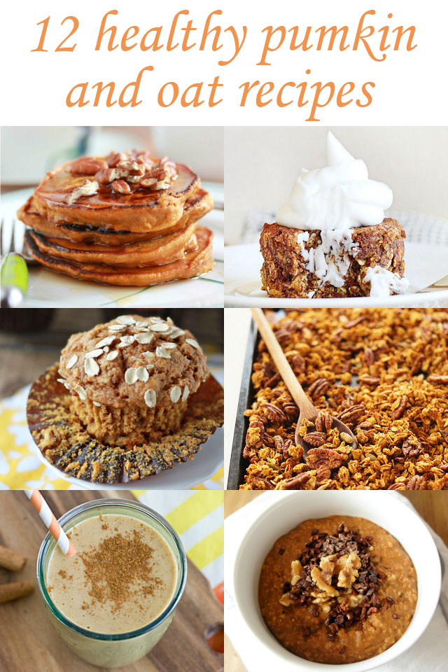 12 Healthy Pumpkin and Oat Recipes | The Road to Less Cake | #pumpkin #oats #oatmeal #Fall #Autumn