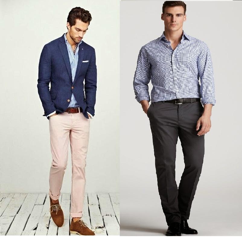 Vestimenta formal en hombre