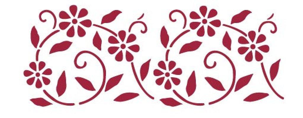 Plantilla cenefas imagui - Plantilla para pintar pared ...