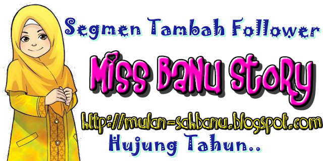 Segmen Blogwalking & Tambah Follower Hujung Tahun Part 2