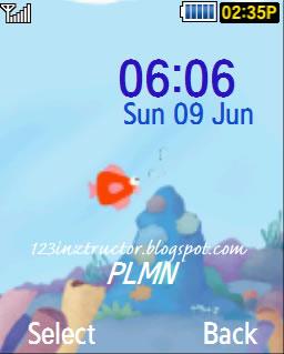 Samsung GT-C5010 Sea Theme Download Wallpaper
