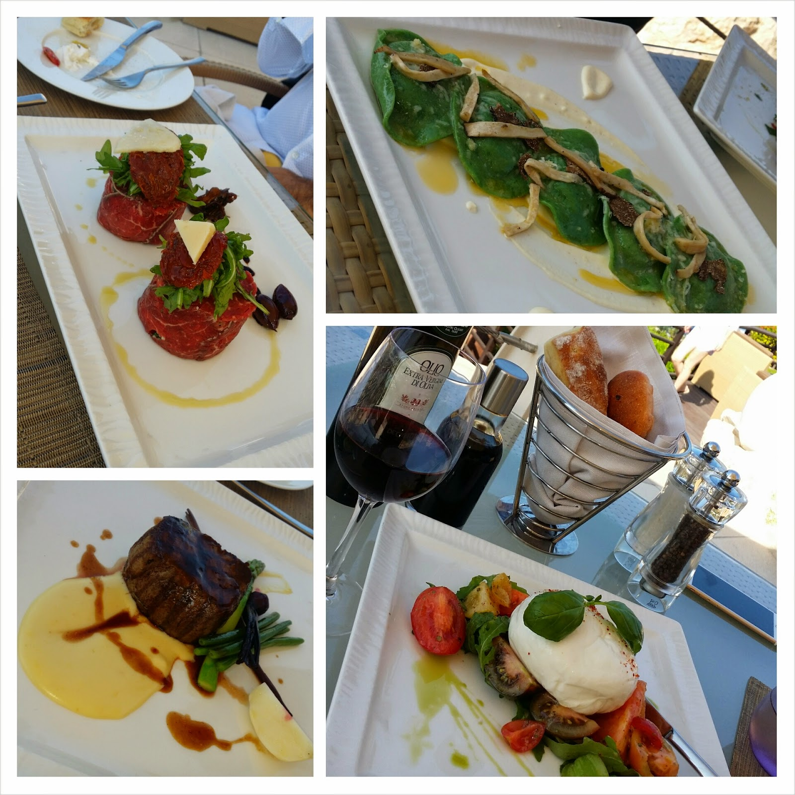 Lunch at Bussola at The Westin, Dubai before F1