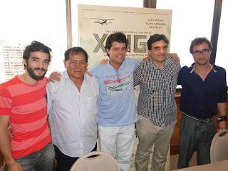 Entrevista com Caio Blat, Felipe Camargo, João Miguel e Cao Hamburguer, sobre o filme Xingu