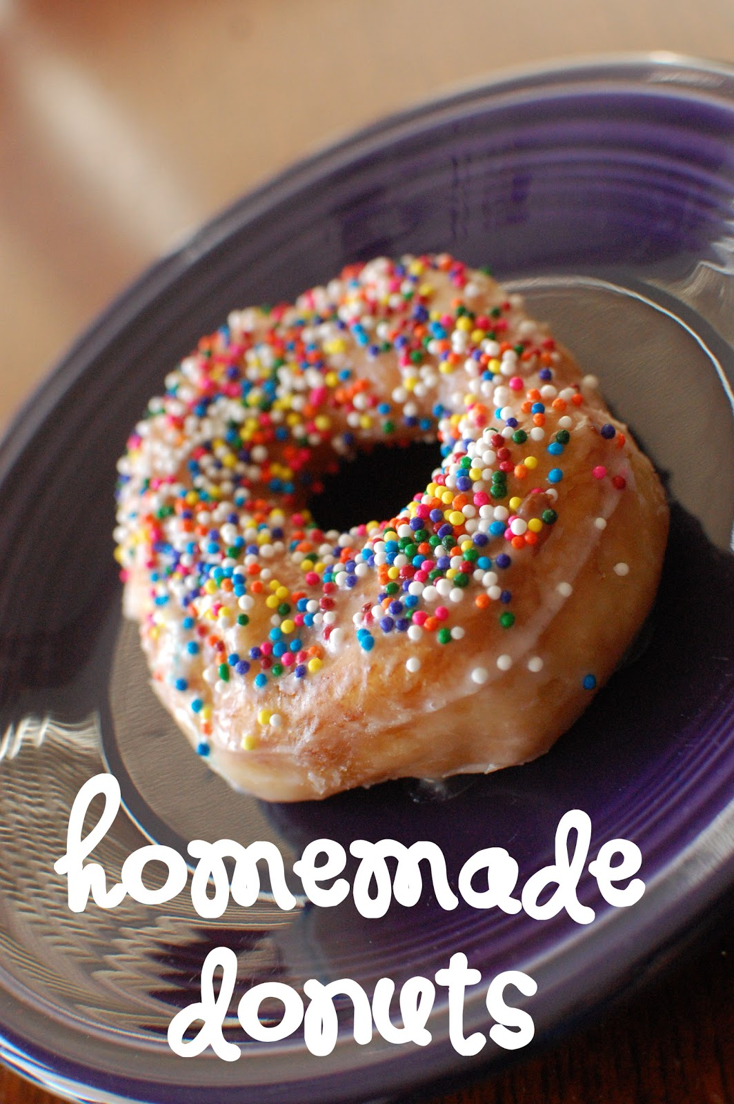 *Random Thoughts of a SUPERMOM!*: Homemade Donuts