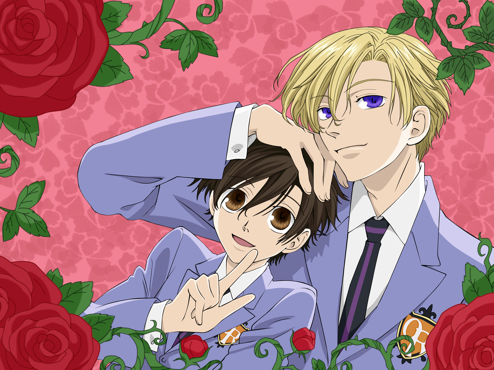 Wallpapers  Ouran High School Host ClubOuran Highschool Host Club Honey And Haruhi