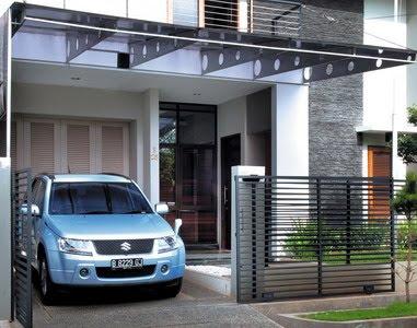 model rumah minimalis sederhana gambar contoh desain