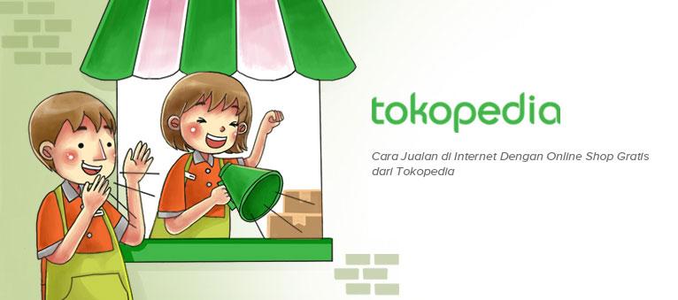 Mendaftar Member Baru di Tokopedia