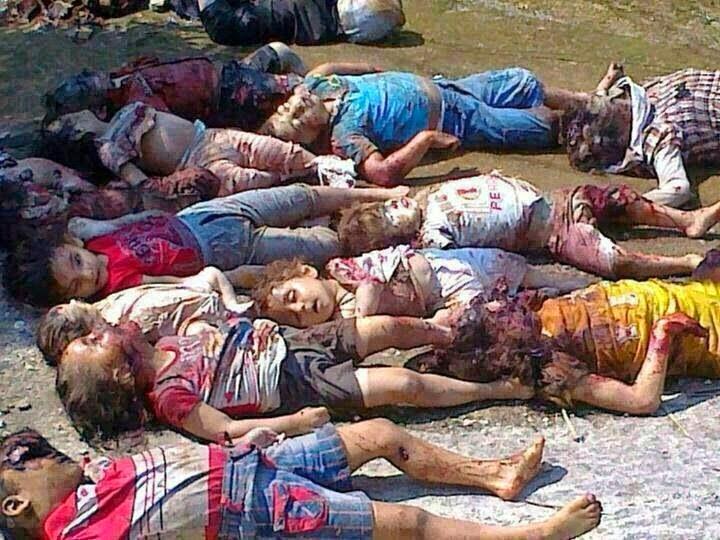 MATANZA DE NIÑOS CRISTIANOS EN IRAK Y SIRIA