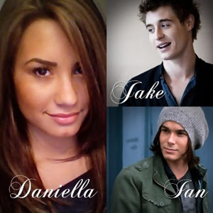 You Could Be Mine main cast - Demi Lovato, Max Irons, and Tyler Blackburn