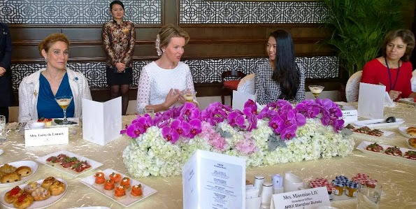 Queen Mathilde And King Philippe's visit To China, Last Day