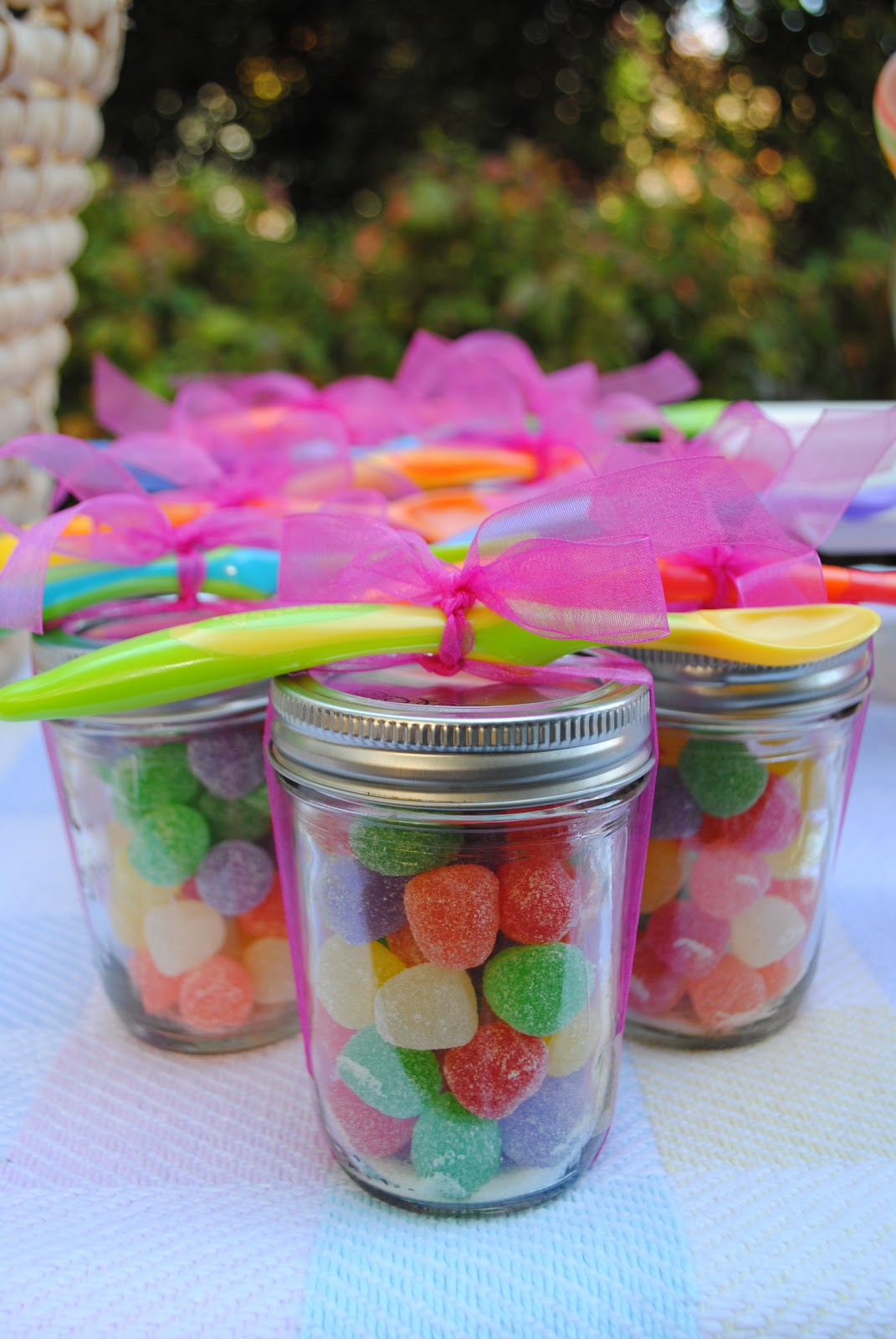 jac o 39 lyn murphy spooning up sweet baby shower favors