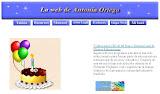 Web de Antonia Ortega