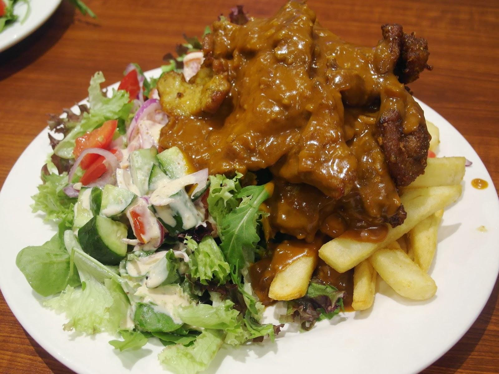 Pork chop in dianne sauce 10 00