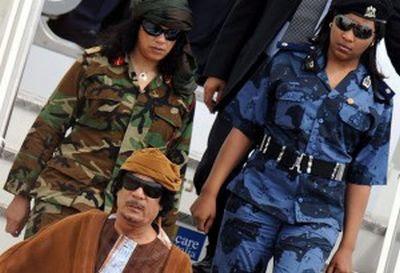 Foto Wanita Cantik Pengawal Kadafi