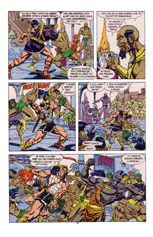 Conan the Barbarian (1970) Issue #247 #259 - English 18