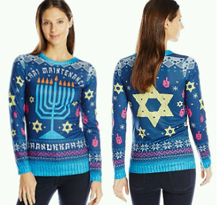 Nordstrom under fire for selling offensive Hanukkah sweater.