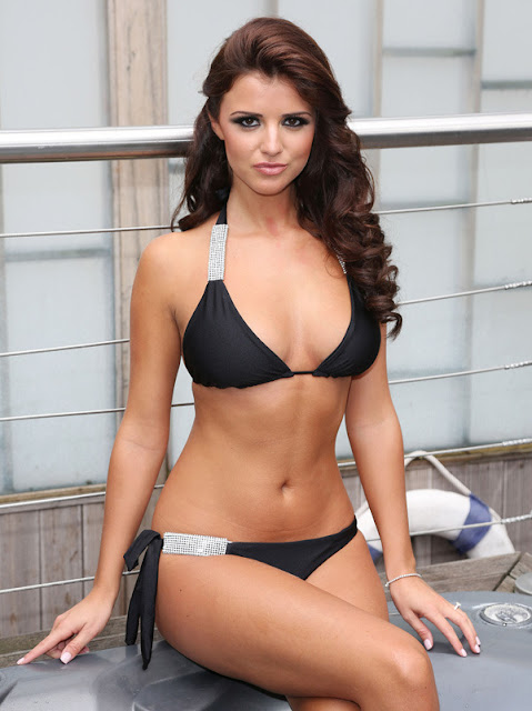 Lucy Mecklenburgh in Swimsuit
