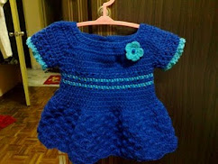 DR01 (Crochet Baby Dress)