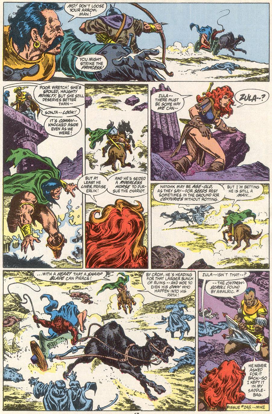 Conan the Barbarian (1970) Issue #249 #261 - English 15