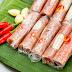 Nem chua (Vietnamese fermented pork roll)
