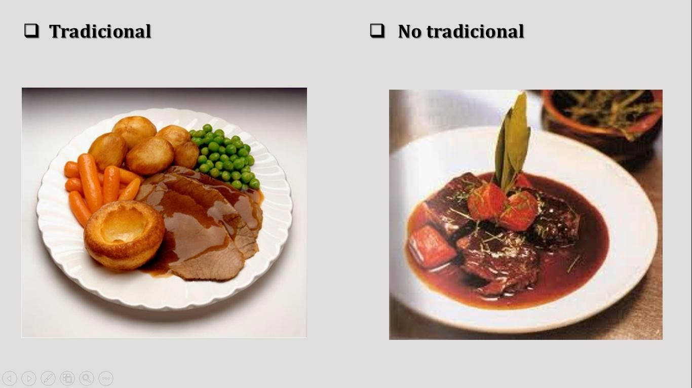 Apuntes gastron micos montaje de platos for Tipos de platos