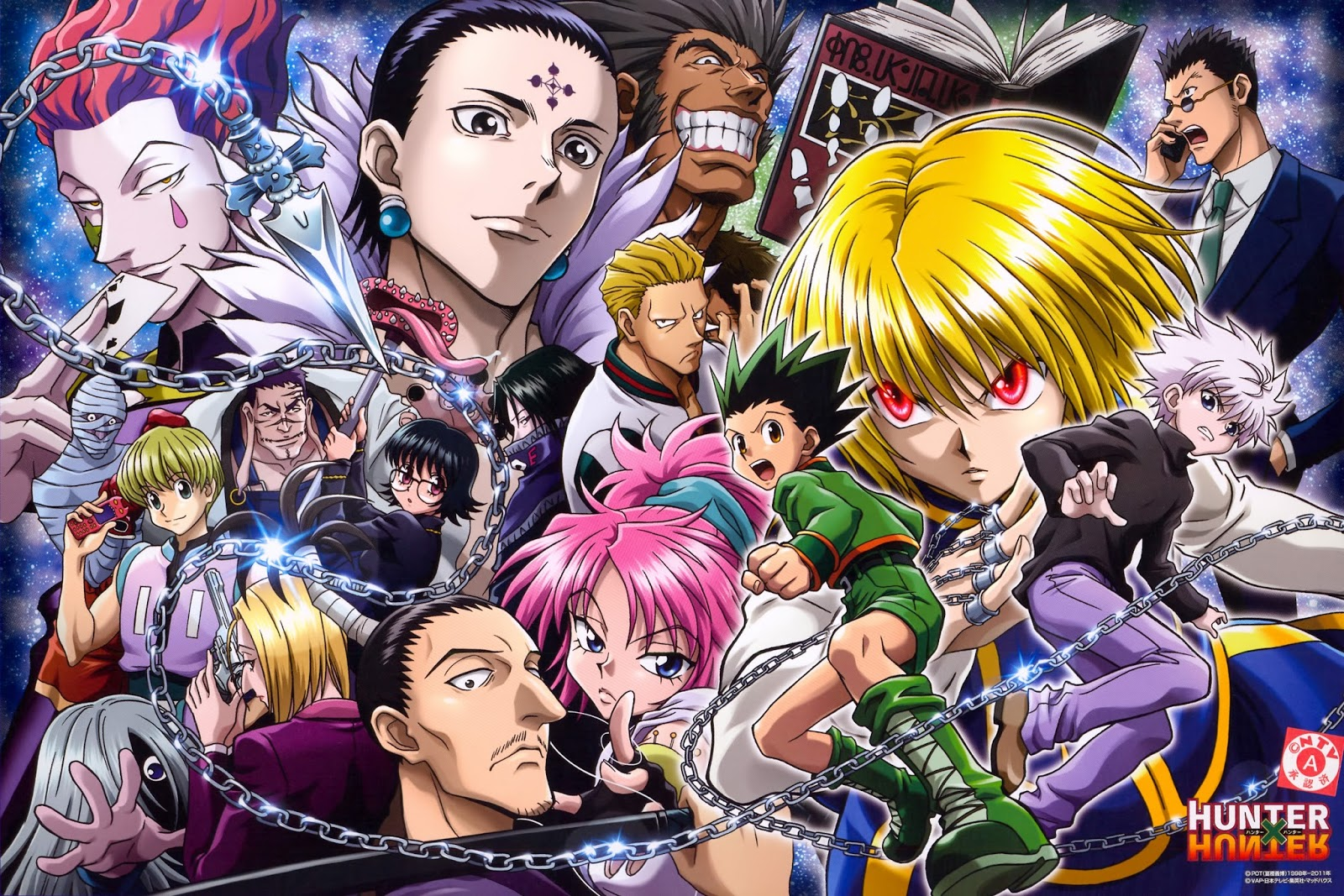 Official Hunter X Wallpaper