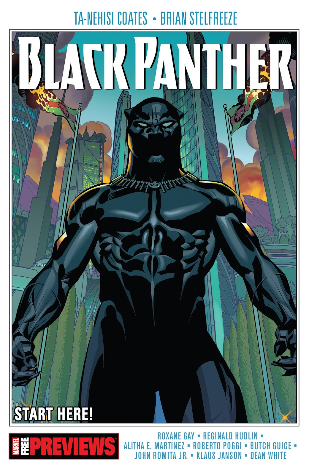 Black Panther Start Here! Full Page 1