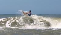Cariló  la práctica del surf