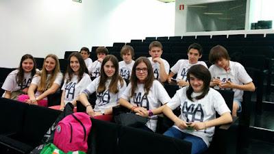 Lauaxeta ikastola Math League Liga Matemática europea
