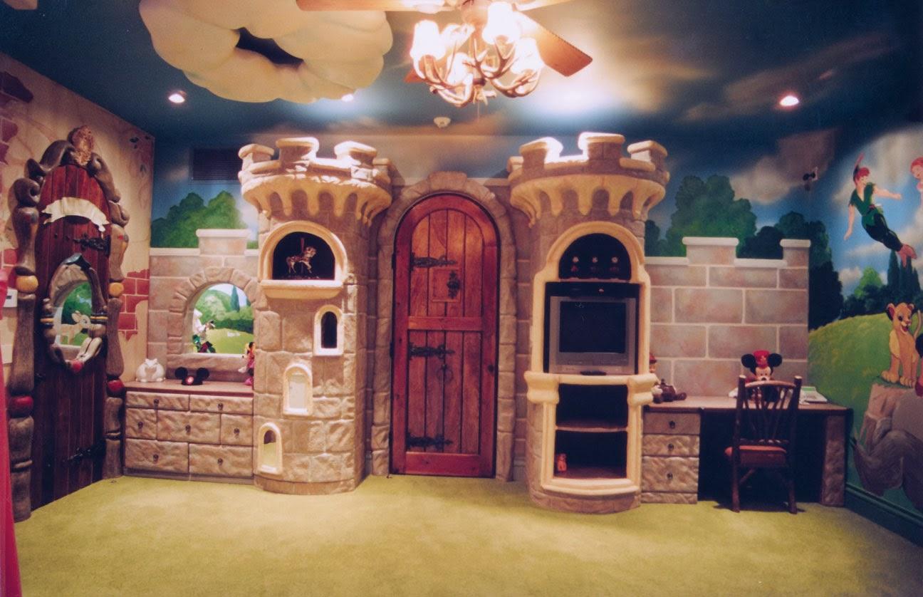 Kids Castle Bedroom Ceiling Fan Des...