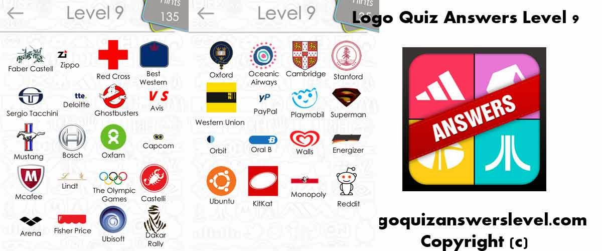 Logo Quiz Answers For all Levels - Games-Answers.com