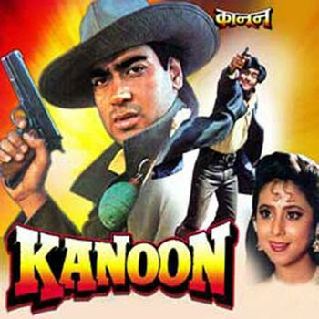 Poster Of Hindi Movie Kanoon 1994 Full HD Movie Free Download 720P Watch Online
