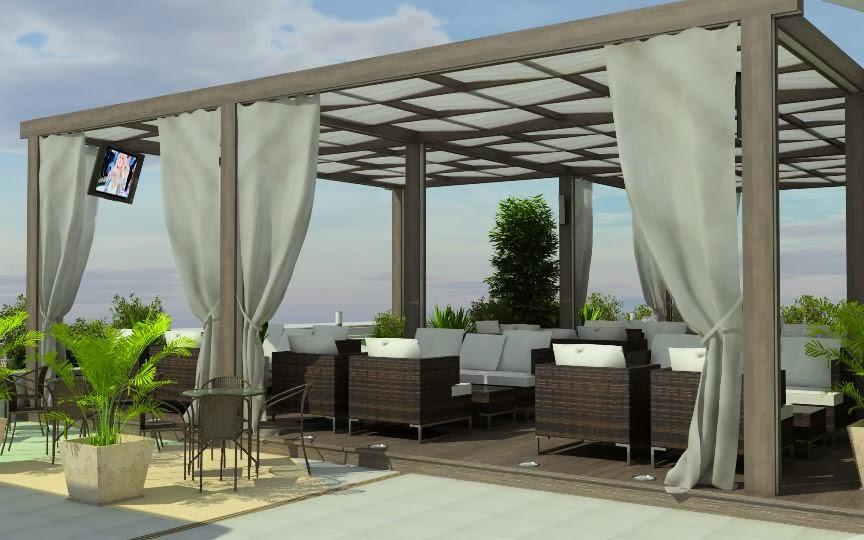 Bar garden 3D - 3