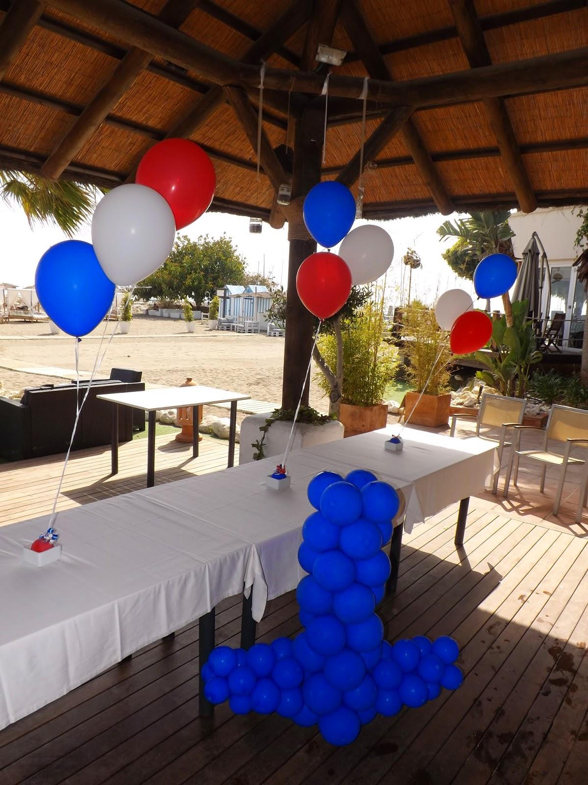 Decoraciones d 39 globos fiesta marinera d 39 globos - Fiesta marinera decoracion ...