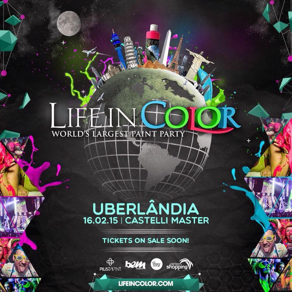Life In Color - Edição: Uberlândia/MG