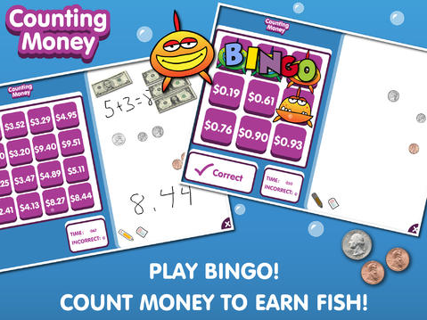 https://itunes.apple.com/us/app/counting-money-bingo/id571405765?mt=8