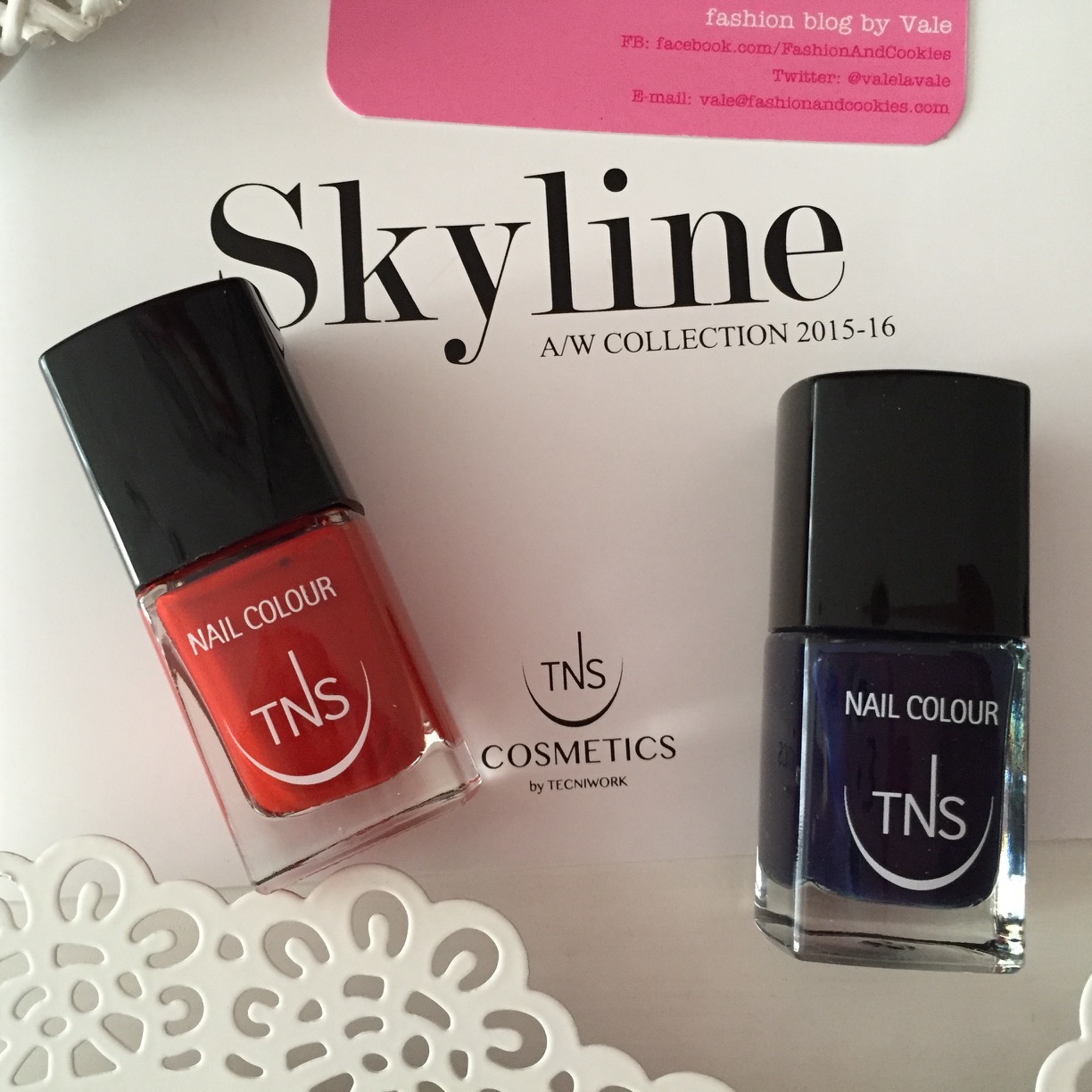 Skyline Collection, Heartbreaker and Night Life nail polish shades by TNS Cosmetics on Fashion and Cookies beauty blog, beauty blogger