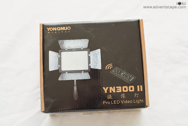 cinematography, gears, Philip Avellana, videography, first impressions, LED, light emiting diode, lighting, video light, Yongnuo, YN-300, unboxing, box
