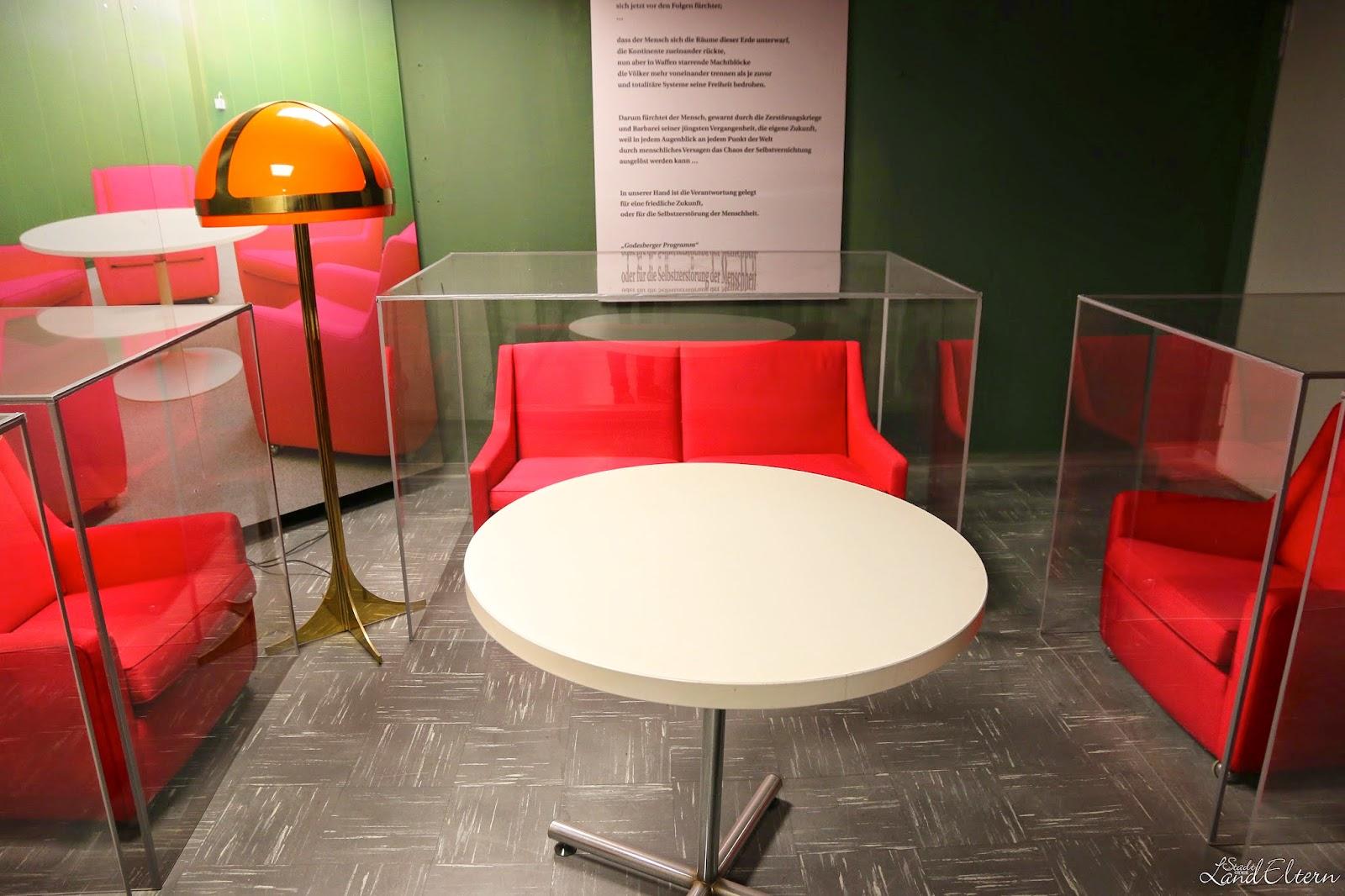 Dokumentationsstätte Regierungsstation Ahrweiler - Einrichtung für den Bundeskanzler