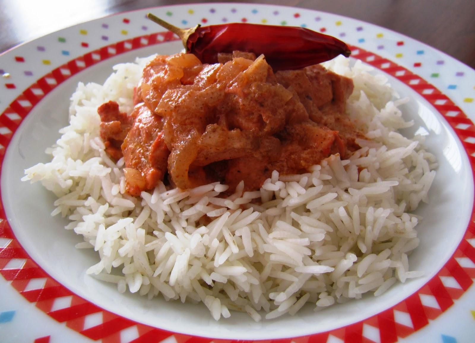il gusto e il giusto : Pollo tandoori con riso basmati