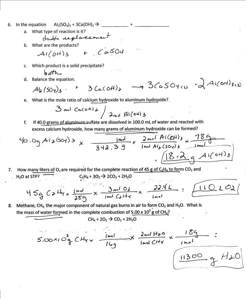 my experiment in stoichiometry The quantitative stoichiometric relationships governing mass and amount will be   the resulting masses are used to calculate the experimental empirical.