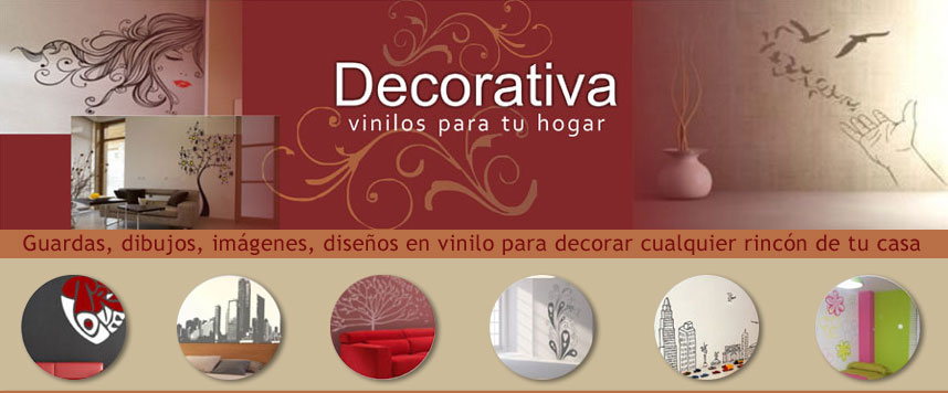 Decorativa. Vinilos para tu hogar.