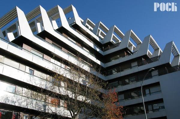 Rennes - Barre Saint-Just - Rue des Guehenno  Architecte : Georges Maillols  Construction: 1969