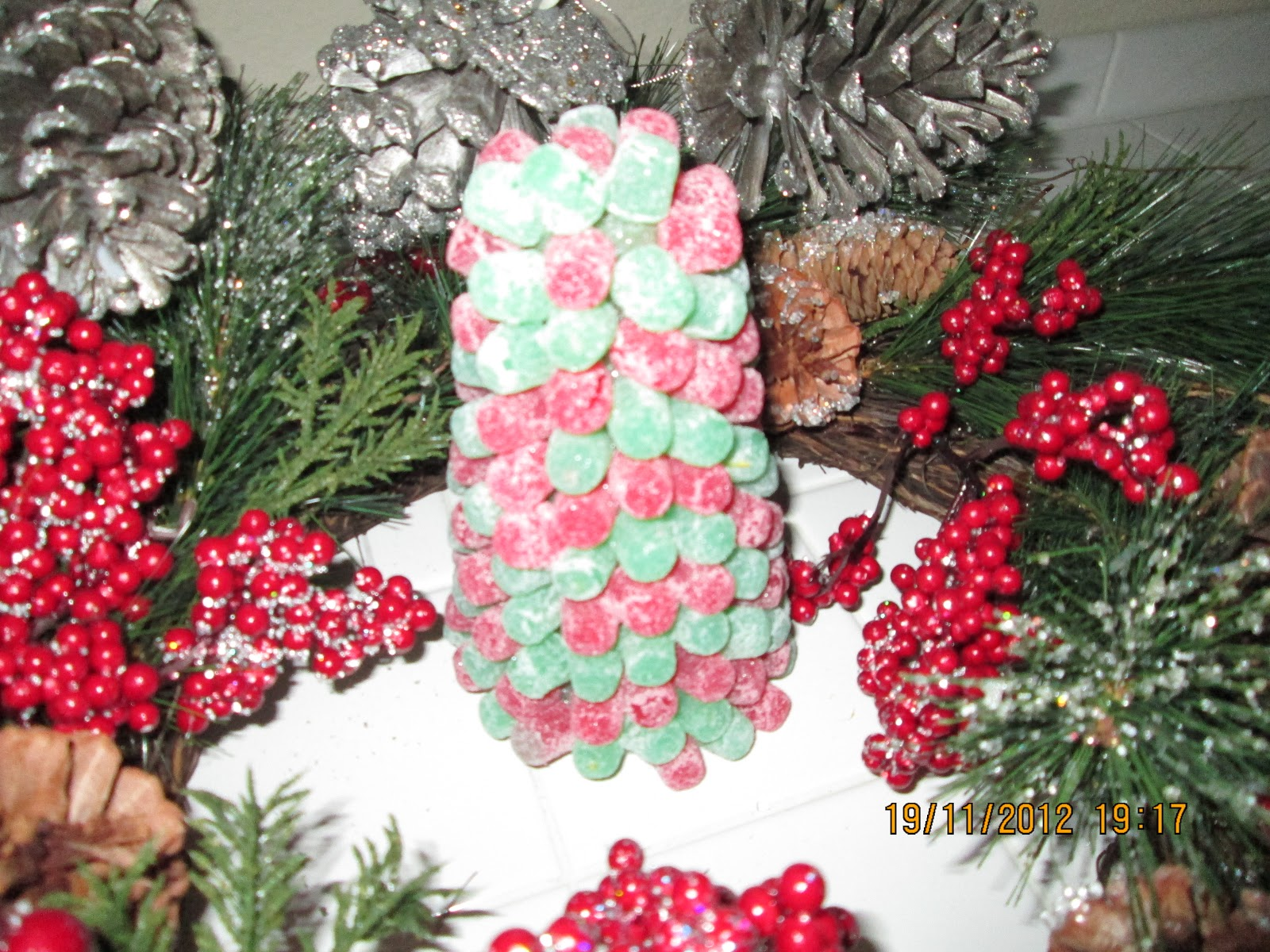 this is a fun and simple post on how to make a really cute gumdrop christmas tree years and years ago i made one very similar to this tree with a group