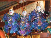 Cambodian puppets - Tonle Sap lake
