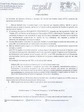 Conclusiones de la proyección electoral de 2012